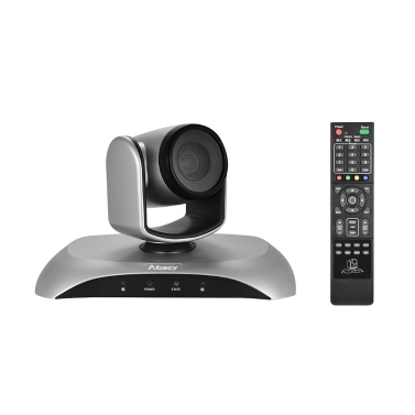 Aibecy 1080P 60fps Videokonferenzkamera HD OUT 10X Optischer Zoom Autofokus Auto Scan Plug-N-Play mit Fernbedienung