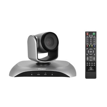 Aibecy 1080P Videokonferenzkamera HD OUT 10X Optischer Zoom Autofokus Auto Scan Plug-N-Play mit Fernbedienung