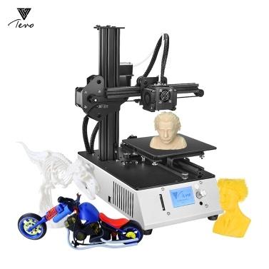43% de rabais sur l'imprimante 3D de bureau TEVO Michelangelo, entièrement assemblé, en aluminium, sur l'extrudeuse Titan, fonctionne avec le PLA TPU seulement € 202,85 sur tomtop.com + livraison gratuite