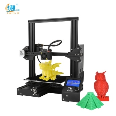 36% OFF Creality 3D Ender-3 High-precision DIY 3D Printer Kit,limited offer $219.99
