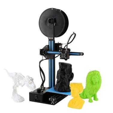 Aibecy Ender-2 3D-Drucker Große Druckgröße 150 * 150 * 200mm Hochpräzise Riemenscheibe Linearführung DIY Kit Günstige 3D-Drucker Selbstmontage mit Tool Kit