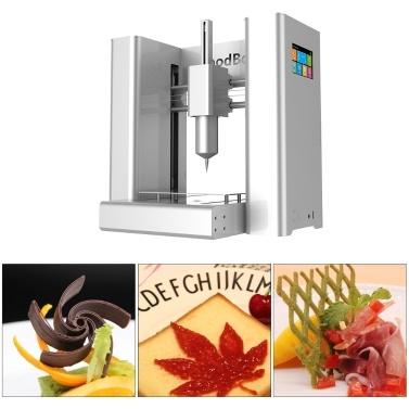 49% de réduction sur l'imprimante 3D FoodBot Food avec support pour écran tactile Wi-fi U Impression sur disque uniquement € 2028,59 sur tomtop.com + livraison gratuite