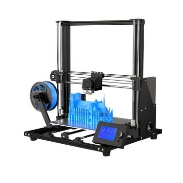 Anet A8 Plus atualizado de alta precisão DIY 3D Printer