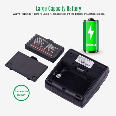 HOIN Portable 80mm Thermal Receipt Printer Handheld