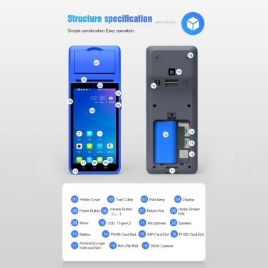 Aibecy Handheld PDA Smart POS Receipt Terminal