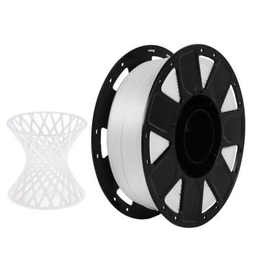 Filamento PLA per stampante 3D Creality 1,75 mm 1 kg / 2,2 lbs Precisione dimensionale del filamento +/- 0,02 mm, nero
