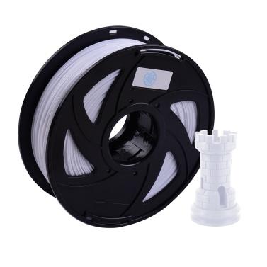 Aibecy 3D Printer PETG Filament 1.75mm 1kg/2.2lbs Spool Filament Vacuum Sealed for Most FDM 3D Printer,