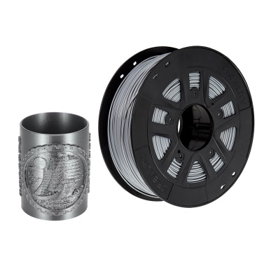 Creality 3D Printer PLA Filament 1.75mm 1kg/2.2lbs Filament Dimensional Accuracy +/- 0.02 mm, Black