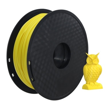 Aibecy PLA 3D Printer Filament 1.75mm Dimensional Accuracy +/- 0.02mm 1kg(2.2lbs) Spool, Black