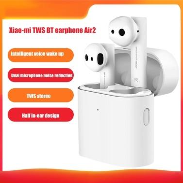 Xiao-mi TWS BT Earphone Air2 Sports Headphone Voz inteligente Despertador con micrófono dual Reducción de ruido