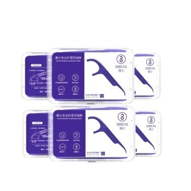 Toothpicks profissionais 300PCS da vara dos dentes de fio dental de Xiaomi SOOCAS