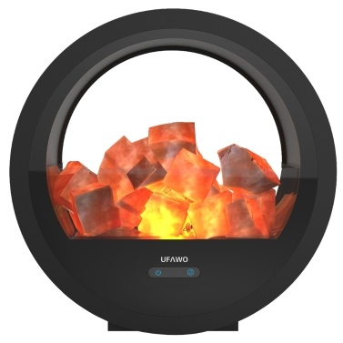 UFAWO U3 Wireless BT Lautsprecher + Crystal Salt Rock Lampe