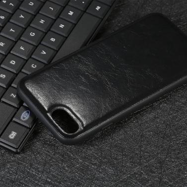 Handy-Gehäuse Ultra-dünnen PC + TPU Shock-Absorption Anti-Kratzer Schutz Shell Back Cover Telefon Fall 360 ° Schutz für iPhone X