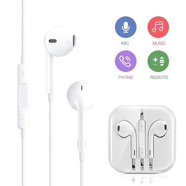 hoco. In-Ear-Kopfhörer der M1-Originalserie Smartphone Universal Wired Control Earphone für iPhone mit Fernbedienung und Mikrofon