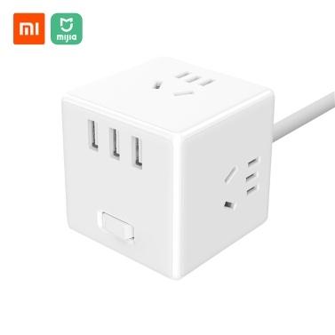 Xiaomi Mijia Magic Cube Socket Stecker mit Anzeige 1,5 m Kabel