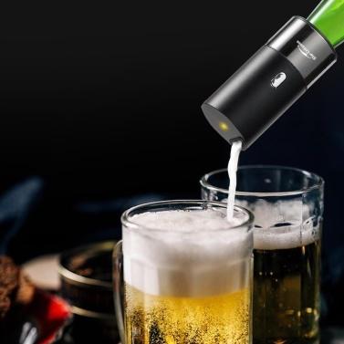 Xiaomi Youpin Star Compass Bierschaumhersteller zur Kontrolle des Bierschaums Bierschäumer mit eingebauter Batterie Zubehör für den Außenbereich Beer Bubbler 40000 mal / s Haushalts-Ultraschall-Bierschaummaschine