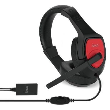 ipega PG-R001 Gaming Headset mit Audio Converter Over-Ear-Stereo-Kopfhörer