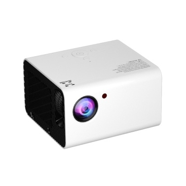 TOPRECIS T10 1080P Full HD Home Projector Andriod TV Projector Built-in Speaker HiFi Stereo Home Theater Compatible with USB/HDMI/AV/AC/IR/Audio Smart Cinema Video Projector