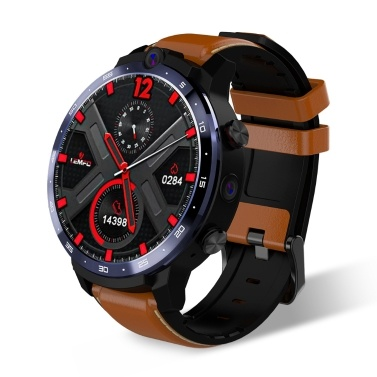 LEMFO LEM12 Pro 4G LTE Smart Watch with Portable Mini Power Bank Compatible with Android iOS