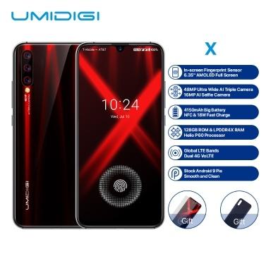 50% OFF Global Version UMIDIGI X Smartph