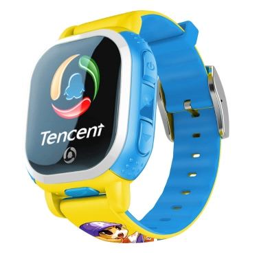 European Version Tencent PQ708 QQWatch 2G GSM IP65 Water-reisitant Kids Smart Watch Phone Mini GPS LBS locator Tracker 1.22 Inches 2.5D Colorful Touch Screen MTK6260D iPhone 6 6S 6 Plus 6S Plus Samsung S6 S6 edge S7 S7 edge HTC LG Smartphone SOS Emergency WiFi Pedometer Smart Mobile App Fashion Durable Android 4.0 iOS 7.0