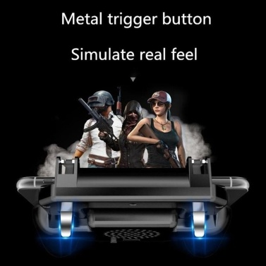 3 in 1 Mobile Gaming GamePad with Cooler Cooling Fan with Mobile Power Game Handle Mobile Games Controller Gamepads