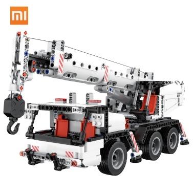 Xiaomi Mitu Bausteine Miniatur City Engineering Kran Roboter Pädagogische DIY Spielzeug