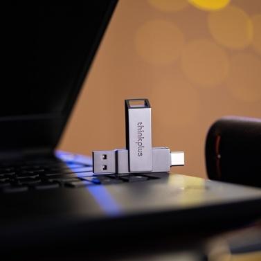 (X101 Single Port 128 GB) thinkplus USB3.1 Flash U-Disk 128 GB Pen Drive Winziger Pendrive-Speicher Stick Speicher U Disk Mini-Flash-Laufwerk PenDrive für PC-Notebook