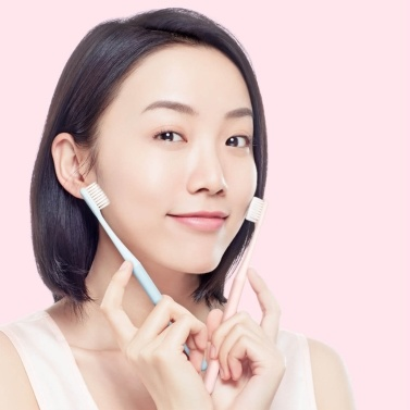Xiaomi Toothbrushes Soft Manual Toothbrushes Slim Teeth Head Brush with Ultra Soft Medium Tip Bristles for Adults Regular Size