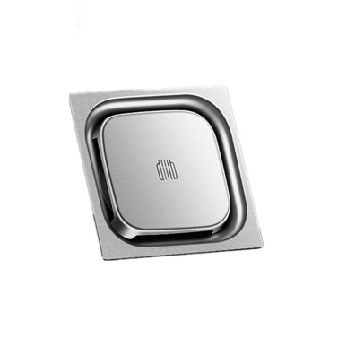 Diiib Floor Drain Deodorant Insect Proof 304 Stainless Steel Swirling Drainage Anti-blocking Filter Drain for Home Kitchen Balcony Washing Machine