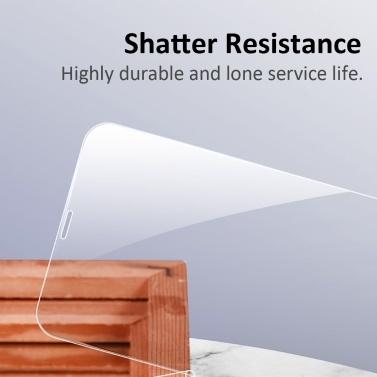 Anti Scratch Anti Dust Displayschutzfolie Ultra Thin Displayschutzfolie aus gehärtetem Glas Kompatibel mit iPhone 11 Pro Max