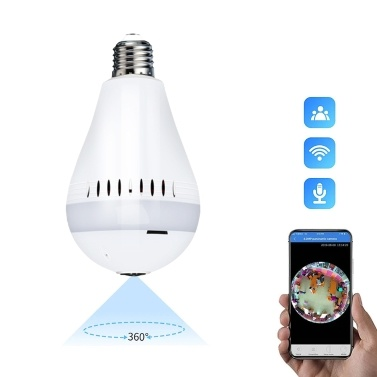 Globale Version Xiaovv D3 1080P Smart Bulb Überwachungskamera