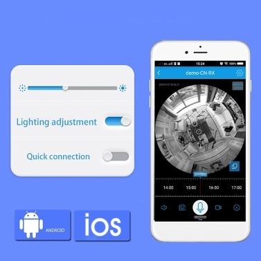 Global Version Xiaovv D3 1080P Smart Bulb Security Camera