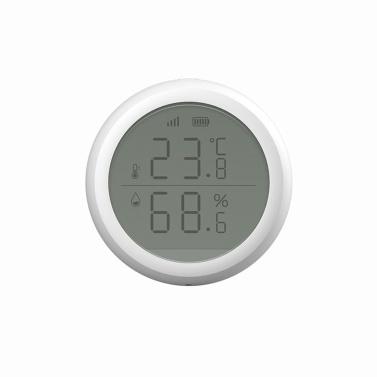 ZigBee Инфракрасный датчик температуры и влажности Умный цифровой гигрометр