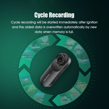 Global Version DDPAI mola N3 Dash Cam Driving Recorder with 64G TF Card