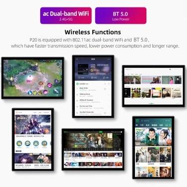 Teclast P20 10.1-inch FHD 2GB+32GB LTE Tablet