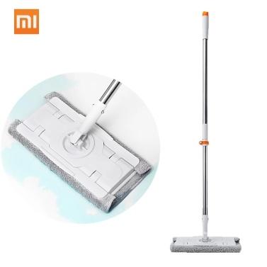 Xiaomi Mijia Jiezhiほうきダストモップ掃除機送料無料360回転クリーナー1.3メートルロッドフロアクリーニングツール用ホーム家族オフィス