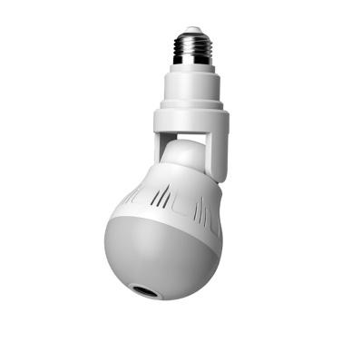 Xiaovv em forma de lâmpada para sistema de segurança de câmera panorâmica Lâmpada de iluminação - 500 W pixels