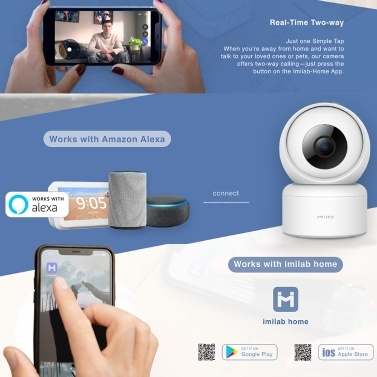 Global Version IMILAB C20 Home Security Camera 1080P Smart WIFI IP Camera