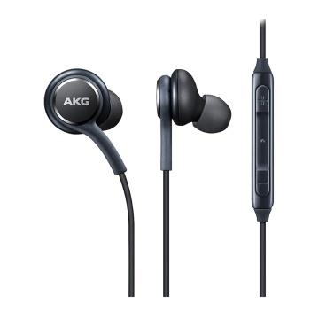 Fone de ouvido de metal magnético IG955 com fio de 3.5mm de ouvido com controle de volume do microfone para samsung s8