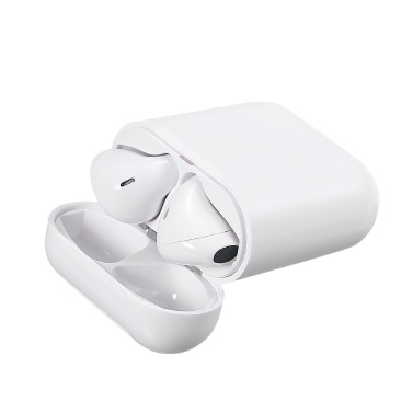 i9S-TWS True Wireless Headset Earphone BT 5.0 Dual Mic In-ear Stereo Headphones Invisible Stereo Earbuds