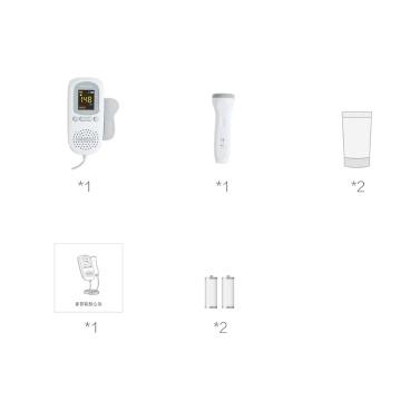 Xiaomi Mijia Andon Doppler Fötaler Herzschlagmelder FD-600G