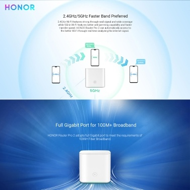 HONOR Router Pro 2 HiRouter-CD30 Wireless Smart Home Wifi Router