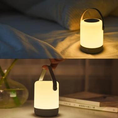 Drahtloses Ladegerät für Xiaomi Youpin Zhiji Nachtlicht tragbares schnelles drahtloses Ladegerät 10W 5V 2A für Xiaomi Mi 9 Samsung S10