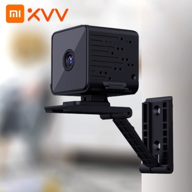 Xiaomi Youpin Xiaovv V380-W2 1080P Smart Wireless Battery Mini IP Camera AP Wireless Connect IP Camera with Mic/Audio AI Moving Detection Infrared Night Vision Baby Monitors Outdoor Security Indoor Wireless Smart Home TF/Cloud storage Recording