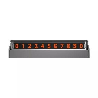 Xiaomi MIJOY Auto temporäre Parkkarte