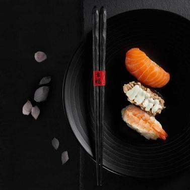 12 Paar Essstäbchen von Xiaomi Youpin Food Sticks Essstäbchen Wiederverwendbare chinesische Essstäbchen Geschirr Geschenk Küchenutensilien