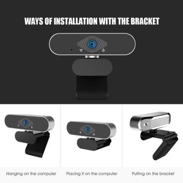 Xiaovv HD USB Webcam Built-in Microphone Drive-free Auto-focusing Camera