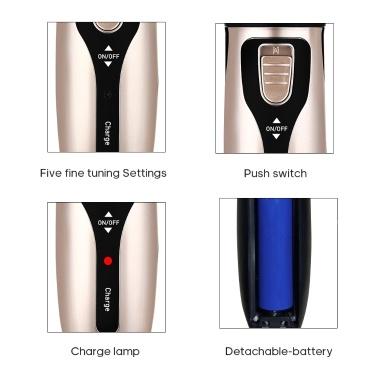 A8 Elektrischer Haarschneider Haushaltshaarschneider für Kinder Erwachsene Haarfriseur