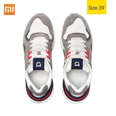 Xiaomi mijia couro retro homens casuais sapatilha sapatos de desporto ao ar livre anti-choque de escalada em execução 39 40 41 42 43 44